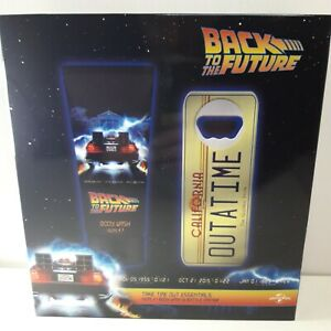 EXCLUSIVE Back To The Future Body Wash & Bottle Opener Christmas Gift Set