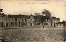 CPA Bar - sur - aube .- L'ecole des garcons   (197128)