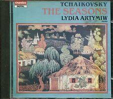 TCHAIKOVSKY: The Seasons - LYDIA ARTYMIW [Chandos CHAN 8349]