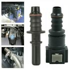 Straight 7.89mm ID6 Car Fuel Line Hose Pipe Coupler Quick Release Connector SET