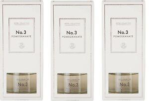 Aldi Hotel Collection reed diffuser. No.3 Pomegranate/100ml  X 3 - new/boxed....