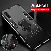 For Samsung A50 A40 A70 Case Shockproof Hybrid Ring Holder Hard Back Phone Cover