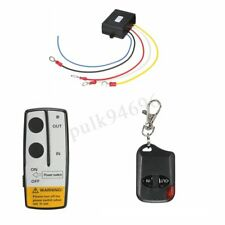 315MHz 50ft 12V Wireless Winch Remote Control Kit For Jeep ATV Universal US