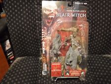 2001 McFarlane Movie Maniacs Blair Witch Tree Head Variant Moc Nib
