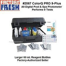 LaMotte #2067 ColorQ Pro 9-Plus Photometer Kit Complete tri lingual instructions