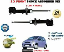 FOR DAIHATSU CHARADE 1.0 2003-2007 2X FRONT LEFT RIGHT SHOCK ABSORBER SHOCKERS