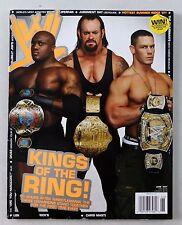 Wwe Pro Wrestling Magazine June 2007 The Undertaker Wrestler John Cena