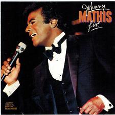 JOHNNY MATHIS - Live! (CD 1988)