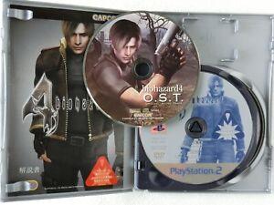 BioHazard 4 Resident Evil Soundtrack CD PS2 CAPCOM Sony Playstation 2 From Japan