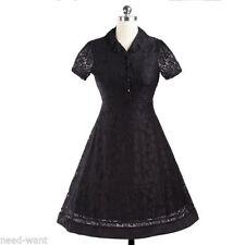 Lace Plus Size Vintage Dresses for Women