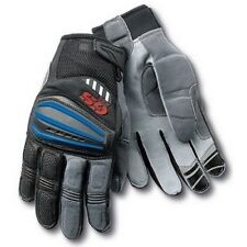 motorcycle BMW MOTORRAD GS GLOVES RALLYE 3. BLUE, AZUL,  SIZES M, L or XL