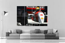 AYRTON SENNA FORMULE ONE CLASSIC VINTAGE   Poster Grand format A0 Large Print