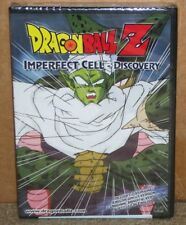 Dragon Ball Z Imperfect Cell Discovery DVD Uncut New