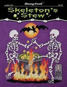 Skeleton's Stew by Stoney Creek LFT306 Cross Stitch pattern