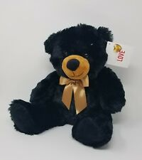 SEASON OF LOVE PLUSH VALENTINE BLACK BEAR NWT