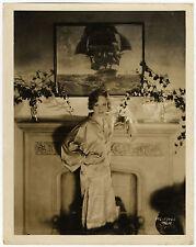 MADGE EVANS Portrait MGM Bateau SHIP Kimono US Original Photo 30's