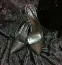Office Smart Kitten Heel Slingback / Court Shoe Sz 4