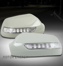 FOR 03-07 MAZDA 6 MAZDA6 AMBER LED SIGNAL LAMP SIDE MIRROR COVER BEZEL UNPAINTED