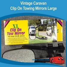 Caravan Car Clip On Towing Mirrors Large ( 2 MIRRORS ) AC03