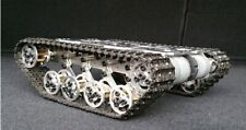 Metal Track Robot Suspension System Obstacle Crossing Crawler Tank Chassis DIY