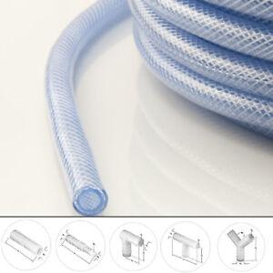 Schläuche mit Klemmen Verbindung PVC Schlauch Wasserschlauch Kunststoff flexibel