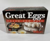 Salton Great Eggs EG1 - Poach And Boil - Cooks 6 Eggs or Poaches 2 At Once