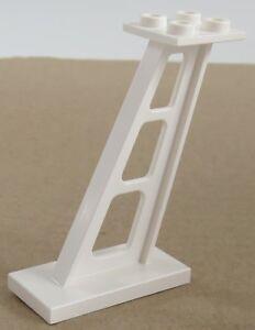 LEGO - Stütze / Pfeiler / Support 2 x 4 x 5 geneigt (2 Stück), weiß # 4476b