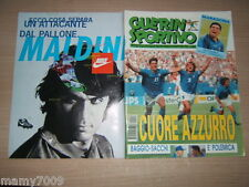 GUERIN SPORTIVO=N°26 1994 ANNO LXXXII=FILM DEL MONDIALE USA 94=MARADONA=BAGGIO