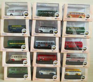 Job Lot of 15 Oxford Omnibus Buses / Coaches N Gauge BNIB