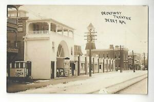 Broadway Theatre, Derry, New Hampshire RPPC