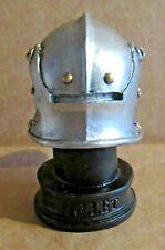 ORNAMENT SALLET HELMET RESIN MODEL 15TH CENTURY COMBAT UNIFORM ARMOUR