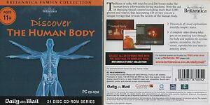 DISCOVER THE HUMAN BODY CD-ROM - Britannica Collection