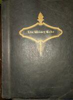 """Vintage """"The Wilsey Echo"""" Yearbook. Wilsey High School Kansas 1938-39"""