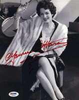 Maureen O`hara Psa Dna Autograph 8x10 Photo Hand Signed