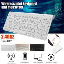 Kabellose Tastatur und Maus Set 2.4 GHz Wireless Keyboard mit Drahtlose Funkmaus
