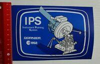 Aufkleber/Sticker: IPS Instrument Pointing System - Dornier esa (08041675)