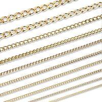 PANZERKETTE Königskette Collier Halskette Vergoldet mit 18K 750 gelb Gold MASSIV