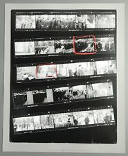 Robert Frank The Americans Contact Sheet Photo Yale Commencement New Haven Green