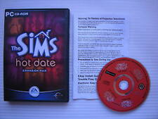 Les SIMS chaud date Expansion Pack-PC CD ROM-Windows 95 / 98
