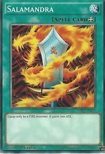 3 X YU-GI-OH CARD: SALAMANDRA - LDK2-ENJ27 1ST EDITION