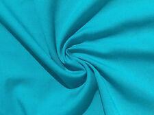 "60"" Teal Blue Tencel Lyocell Rayon Light Gabardine Twill Fabric By The Yard"