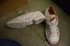 White and red Capezio Spirit Sneakers - DS17 - Size UK 6