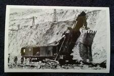 Power Shovel, Copper Mine, Bingham Canyon, Utah Real Photo