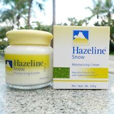 Original HAZELINE Snow Moisturizing Cream Protect Smooth Skin 100 g