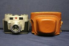 New ListingVintage Kodak Signet 35 Camera 44mm Lens & Original Leather Case F2B9