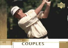 2002 Upper Deck Gold Golf Card #4 Fred Couples /100