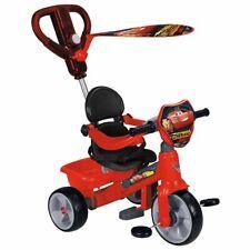 Feber Tricycle à Roulettes Vélo pour Enfants Bébé Cars 3 Rouge 800011143