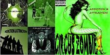 CIrcus Zombie GLAM METAL CD PROGRESSIVE Faster Pussycat/LA Guns style