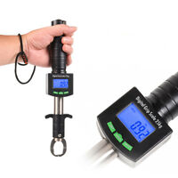 25kg/55lb Digital Fish Lip Gripper Grabber Scale Stainless Steel Fishing Tackle