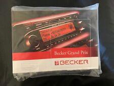 Becker Grand Prix Bedienungsanleitung mit Ausbau Kit